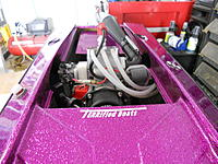"""Name: DSCN1328.jpg Views: 45 Size: 275.2 KB Description: boat built and set up by Terry Cavalier..no better..took us to world gas championships in the 90's ..quote by the editor of rc modeler magazine, """"never saw, or thought, a gas boat could be that fast"""" ..lapped the entire field in the 2nd lap.."""