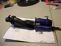Name: DSCN1575.jpg Views: 67 Size: 129.9 KB Description: steering nozzle, and tiller arm installed