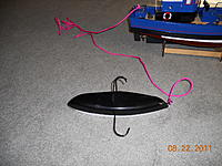 Name: tow.jpg Views: 54 Size: 298.0 KB Description: upside down view of retrieval boat, patterned after the proboat mini duck