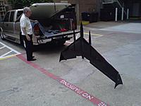 Name: Northeast-20120711-00255.jpg Views: 216 Size: 193.7 KB Description: Bottom has only a carbon skid for landing. The man in the pic is Jack Hooker, who at 82 has a bold vision of using artificial intelligence to replace armed guards.