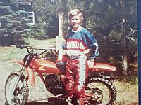 Name: CR 125.jpg Views: 45 Size: 174.5 KB Description: My own CR125 Elsinore, around 1979