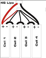 t7884546 142 thumb 4S LiPo wiring diagram?d=1432071487 convert two 2s packs to one 4s pack (?) rc groups lipo balance wiring diagram at mifinder.co