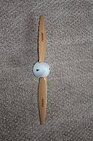 Name: IMG_4366.jpg Views: 133 Size: 190.6 KB Description: 14X7 Falcon wood prop and a 2 1/4 Du-bro spinner