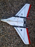 Name: stryker1.jpg Views: 67 Size: 142.2 KB Description: 4 carbon rods and balsa elevons, love the hard bank and yank