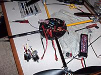Name: reinstalling arm and wire corrections v2 004.jpg Views: 225 Size: 304.4 KB Description: Its not just the motors I had to replace the esc to battery wiring also.  Notice the thin gauge wire on left I replaced with larger gauge wire same as my April unit.  The June unit has this issue  everywhere.  This is why I cant even get past the FC to Ah