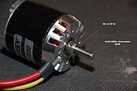 Name: P-51 Mustang_Build_MotorCollet_6-23-2010-0002.jpg Views: 198 Size: 51.7 KB Description: Collet fits snug on the motor shaft to minimize vibration.