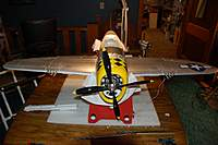 Name: P-47 Thunderbolt_Build_Wing Spar Mod_9-14-20100008a.jpg Views: 340 Size: 59.0 KB Description: The wings look good and are securely attached, yet removable.