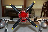 Name: P-51 Mustang_Build_VarioPROP-Adapter-Spinner_9-19-20100013.jpg Views: 229 Size: 49.3 KB Description: