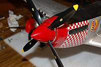 Name: P-51 Mustang_Build_VarioPROP-Adapter-Spinner_9-19-20100015.jpg Views: 237 Size: 50.5 KB Description: