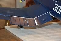 Name: F4U Corsair_Build_Flaps_Mod_11-15-2010_0001.jpg Views: 686 Size: 60.1 KB Description: