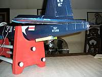 Name: F4U Corsair_Build_TailWheel-BayDoor_Blog_12-19-2010_0009.jpg Views: 411 Size: 72.2 KB Description: The finished assembly ready for the Marines Dream scheme to be painted.