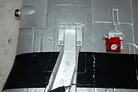Name: Sandancer_Starmax Gunfighter_Build_E-Tract-Frame_3-30-2011_0015.jpg Views: 484 Size: 72.2 KB Description: *Up-Date 4/03/2011*   The outline of the frame before cutting on the port wing.