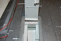 Name: Sandancer_T-28 Trojan_Build_Main-LG_7-06-2011_0001.jpg Views: 282 Size: 220.0 KB Description: *UP-DATE  7/17/2011*   I thought I would note how the LG skirts are pinned for hinging.   There is no way to access these screws with out either digging foam or pulling the plastic unit out.