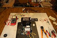 """Name: Power_Supply-Mod_11-16-20110005.jpg Views: 120 Size: 229.7 KB Description: """"UP-DATE 12/06/2011""""  The original 'Puter harnesses removed, wires trimmed, and ready for mod."""