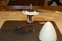 """Name: Starmax_HK_4'_Spinner_12-10-20110006.jpg Views: 161 Size: 126.8 KB Description: The Hobby King 4"""" Nylon spinner w/13x9 2-Blade prop"""