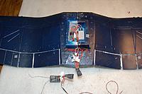 "Name: F4U Corsair_Build_Electronics_14-Pin Harness_11-15-2010_0012.jpg Views: 133 Size: 142.5 KB Description: ""UP-DATE  1/05/2012""   The Corsair 1-piece wing mod."
