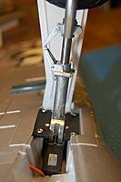 Name: Sandancer_FMS 1400 P-51 BBD-UnBoxing_12-28-2012_0064.jpg Views: 245 Size: 117.7 KB Description: The upper strut unit is aluminum, the lower strut unit (wheel) is steel w/plastic housing.