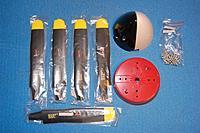 Name: Sandancer_FMS 1400 P-51 BBD-UnBoxing_12-28-2012_0082.jpg Views: 193 Size: 192.4 KB Description: The 4-blade prop assembly.