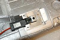 Name: Sandancer_FMS V7.5 P-51 BBD_Landing Gear_01-12-2013_0033.jpg Views: 288 Size: 149.8 KB Description: The aluminum flange I made for the conversion.