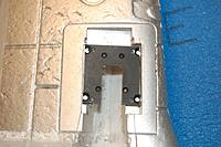 Name: Sandancer_FMS V7.5 P-51 BBD_Landing Gear_01-12-2013_0047.jpg Views: 290 Size: 156.8 KB Description: The modified plastic 514 flange test fit.