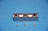 Name: Sandancer_FMS V7.5 P-51 BBD_50 cal guns_01-11-2013_0000.jpg Views: 152 Size: 145.5 KB Description: The gun housing prior to fitting the alum barrels in.