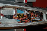 Name: Sandancer_FMS V7.5 P-51 BBD_Electronics System_01-29-2013_0009.jpg Views: 140 Size: 275.7 KB Description: A shot of the rear of the compartment.
