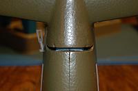 Name: Sandancer_FMS P-51B Shangri La-Un-Boxing_02-12-2013_0054.jpg Views: 194 Size: 186.4 KB Description: This shows the gap I encountered trying to anchor the vert. stab