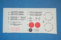 Name: Sandancer_FMS P-51B Shangri La-Un-Boxing_02-12-2013_0101.jpg Views: 177 Size: 162.0 KB Description: The decal sheet.