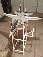 Name: IMG_0279.jpg Views: 187 Size: 65.5 KB Description: Checking the action on the sweep wings and the landing gear.