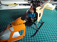 Name: HBCPX_Fuselage_Open.jpg Views: 205 Size: 168.1 KB Description: Forward fuselage is off. A little fiddly at first, until you get the hang of it.
