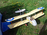 Name: DH2_1_20150517.jpg Views: 89 Size: 155.2 KB Description: Robert brought his scratchbuilt DH2 for a re-maiden (plane was damaged on maiden last year).