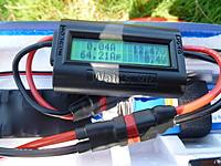 Name: P1060869.jpg Views: 43 Size: 185.6 KB Description: 64.21 amps on hyperion 3020-8 motor, hyperion 45c 2600mah 3s lipo and apc 12X6 prop