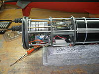 Name: P1010003.jpg Views: 404 Size: 93.3 KB Description: REar part of the WTC, with the main motor, servos, ADC and APC (on port side)