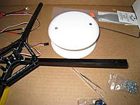 Name: IMG_1287.jpg Views: 1109 Size: 64.2 KB Description: QP Center Mount (Plastic Recessed Lighting Cover $2.00 at Hardware Store)