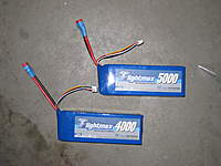 Name: IMG_1317.jpg Views: 1270 Size: 76.4 KB Description: Zippy Batteries Re-wired with Deans (Heat shrinked)