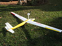 Name: IMG_2448.jpg Views: 170 Size: 140.0 KB Description: Everything from scratch including the hardware. The wingspan is 1500mm and the fuselage length is 1300 mm.