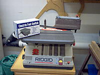 Name: IM000987.jpg Views: 711 Size: 269.4 KB Description: Spindle sander with foot switch is a great tool for doing a lot of this.