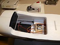 Name: MG servos hook up.jpg Views: 12 Size: 486.0 KB Description: New MG servos in place.