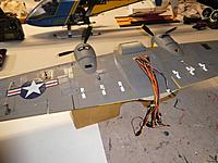Name: Wing prep before final seal off.jpg Views: 6 Size: 719.4 KB Description: Preps before applied sealant.