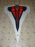 Name: P1020282.jpg Views: 155 Size: 46.4 KB Description: Comparison to my 90mm prototype, span 130cm, length 255cm.
