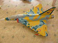 Name: P1050147.jpg Views: 145 Size: 164.5 KB Description: Painting is fully complete, Elevon hook up and landing gear next.