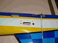 Name: P1050427.jpg Views: 115 Size: 99.1 KB Description: Fully hooked up RUDDER,