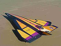 Name: P1050284.jpg Views: 168 Size: 128.8 KB Description: Jet turbine powered foamy, 145x255cm.