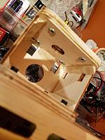 Interior motor box reinforcement