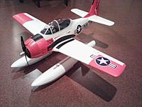 Name: Airfield 800mm T-28 with GWS Floats 01.jpg Views: 275 Size: 212.5 KB Description: