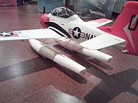 Name: Airfield 800mm T-28 with GWS Floats 02.jpg Views: 228 Size: 201.5 KB Description: