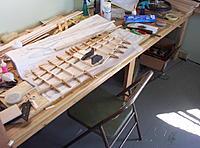 Name: Building Biplane2 002.jpg Views: 103 Size: 1.10 MB Description: Building the stablizers with semetrical airfoil