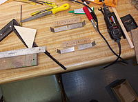 """Name: Building Biplane2 021.jpg Views: 84 Size: 1.17 MB Description: These are to attach the cabine struts ti the fuselage 1/8"""" 6061 aluminum"""