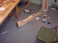 "Name: Building Biplane2 027.jpg Views: 103 Size: 1.13 MB Description: Putting 3/23"" balsa sheet on"
