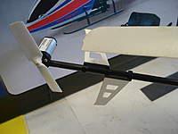 Name: DSC01698.jpg Views: 174 Size: 43.5 KB Description: New Tail. Minor nicks to main blades
